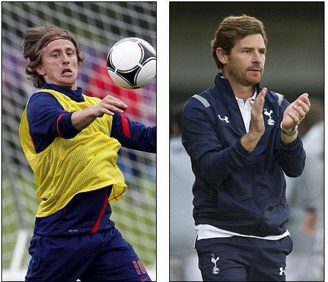 AVB warns Spurs outcast Modric he won't leave for Madrid on the cheap