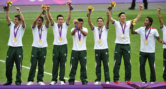 Mexico 2 Brazil 1: Samba boys stunned in bid for elusive gold as Peralta double sends Mexico into dreamland