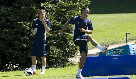 The saga continues! Modric to Madrid is 'done' but Spurs insist Real must pay £35m