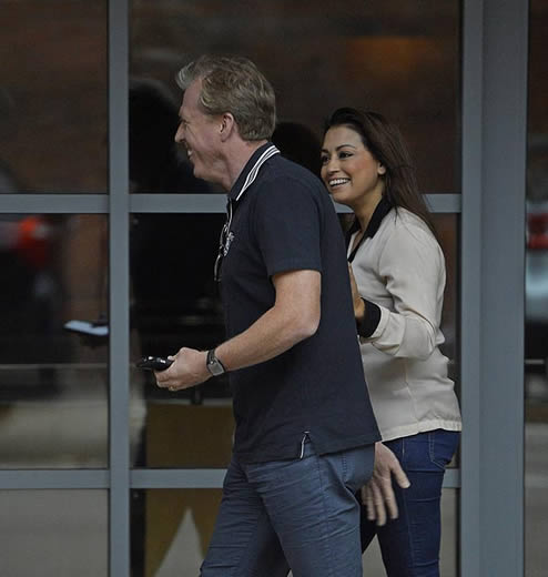 McClaren affair with Sven's ex - Two-month fling with brunette exposed