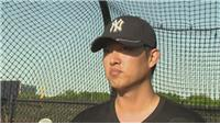 Chien-Ming Wang on signing for the Yankees