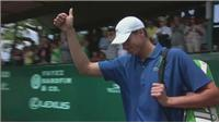 Isner wins clay court Championship