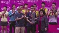 New father Wei helps Malaysia win Axiata Cup