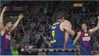 Barcelona beat Panathinaikos to reach final four