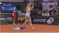 Top seed Sharapova beats Kerber to reach final of Porsche Grand Prix