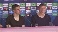 Schweinsteiger: 'We are seen as favourites'