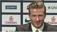 David Beckham to retire from football at end of season