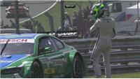 Rockenfeller wins German Touring Car Masters race at Brand's Hatch