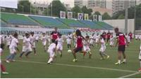 Atletico Madrid play 130 kids in Charity match