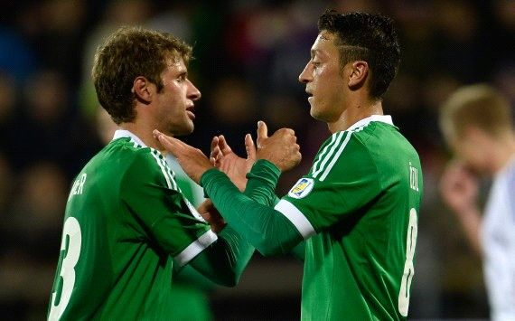 Faroe Islands 0-3 Germany: Ozil on target in comfortable win