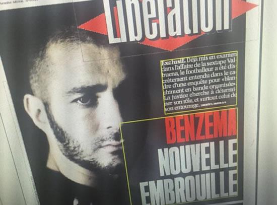 Thêm một scandal nữa cho Benzema