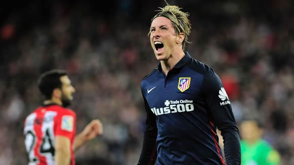 Athletic Bilbao 0 - 1 Atletico de Madrid: Fernando Torres scores crucial winner as Atletico Madrid keep pace in title race