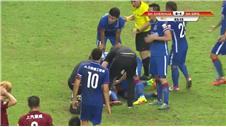 Demba Ba suffers horrific leg break playing for Shanghai