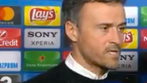 WATCH: Luis Enrique Snaps At Reporter After Barcelona's 4-0 Defeat To PSG