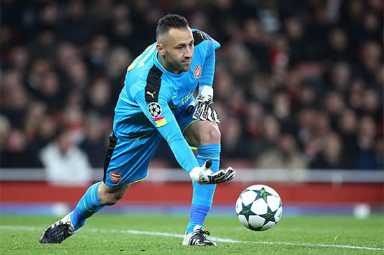 Arsenal keeper Petr Cech is 'looking iffy' and David Ospina could replace him – pundit