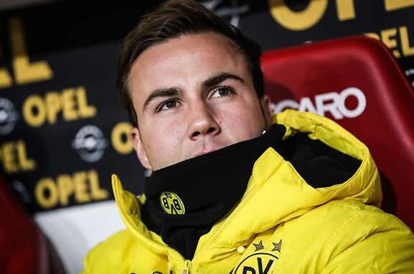 7M - Why Gotze gets lost in Westfalenstadion?