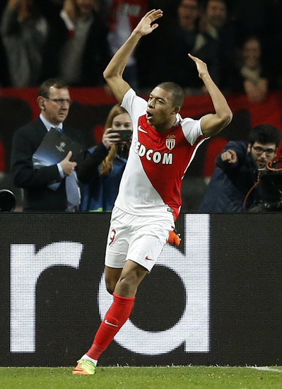 Monaco 3 - 1 Manchester City: Manchester City bow out of Champions League as Monaco overturn first leg deficit