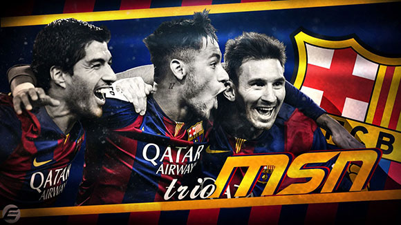 7M Exclusive - Barcelona MSN trio
