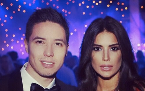 Samir Nasri had one reason to be happy during the Leicester game