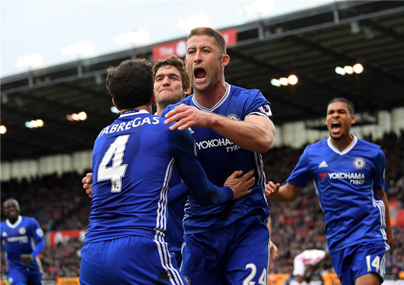 Stoke City 1 - 2 Chelsea FC: Chelsea continue march towards Premier League title with win at Stoke