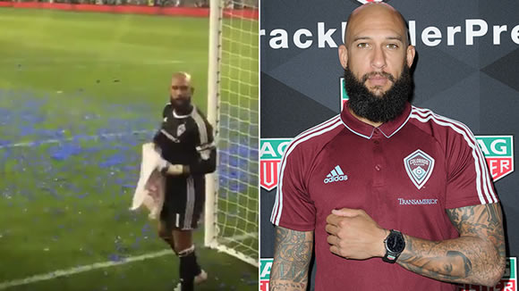 Tim Howard gets three-game ban for calling fan a 'motherf***er'