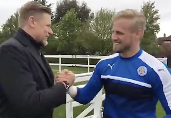 Jamie Vardy rips into Leicester City teammate after his DAD turns up to training