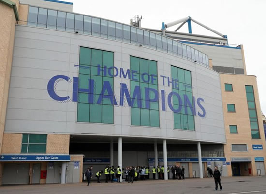 Stamford Bridge evacuated due to security alert
