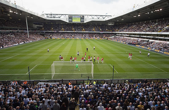 Tottenham fan 'takes drugs' on pitch at farewell White Hart Lane match