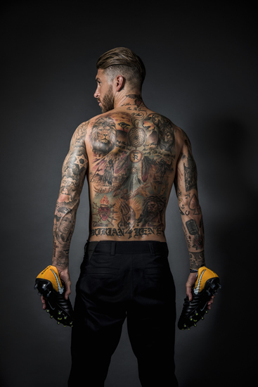 Discover the secrets of Sergio Ramos' tattoos