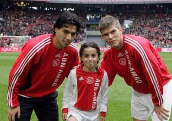 Luis Suarez sends his support to stricken Ajax starlet Nouri