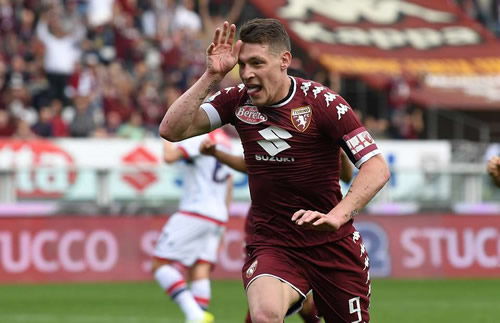 Torino hint at Andrea Belotti exit amid interest from Chelsea and AC Milan