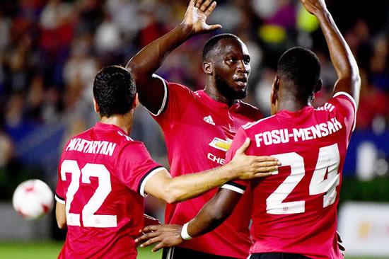 Romelu Lukaku: Jose Mourinho has made me a better player... in just one week