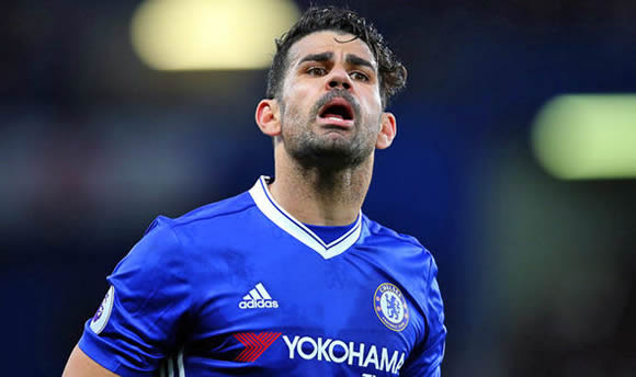 Diego Costa: Chelsea demand AWOL striker's car be removed, locker also cleared