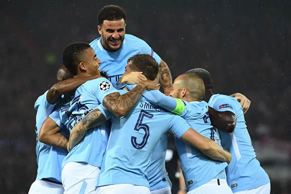 Feyenoord Rotterdam 0 - 4 Manchester City: John Stones scores twice as Manchester City ease past Feyenoord