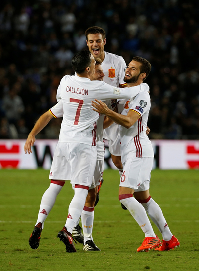 Israel 0 - 1 Spain: Asier Illarramendi on target as Spain finish with a win in Israel