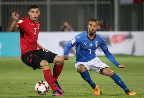Albania 0 - 1 Italy: Italy earn play-off seeding with win over Albania