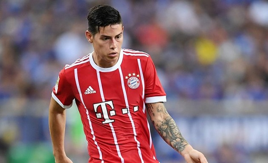 Bayern Munich desperate to dump James back to Real Madrid