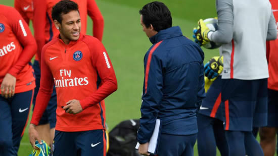 Emery and Neymar meet to repair their differences