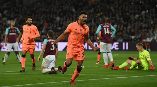 Patient Oxlade-Chamberlain pushing for regular Liverpool starts