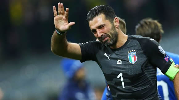 Gianluigi Buffon remains positive after Italy's failure to reach World Cup