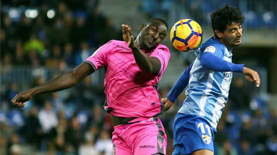 Malaga 0 - 0 Levante: Goalless draw leaves Malaga in bottom three