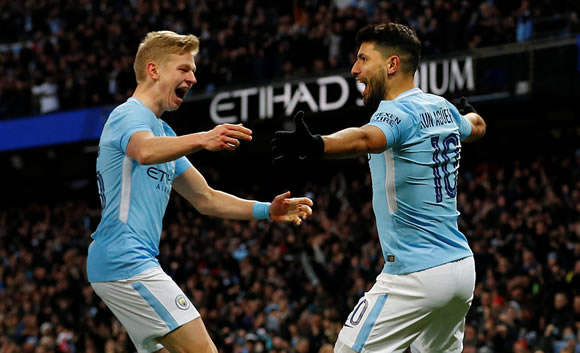 Manchester City 4 - 1 Burnley: City hit back to swat aside Burnley and keep quadruple bid on track