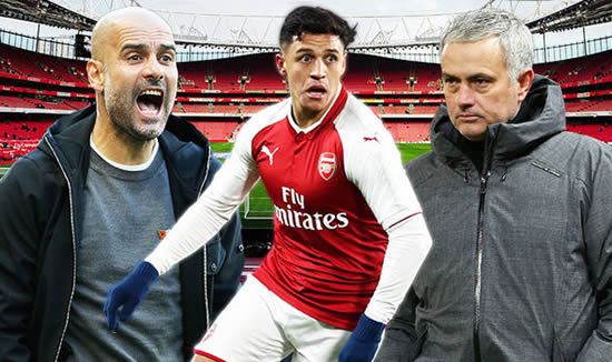 Alexis Sanchez: Man Utd bid too late as Arsenal star decides to join Pep Guardiola at City
