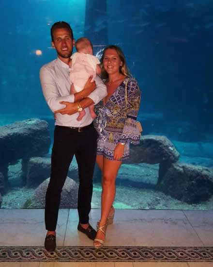 Tottenham star Harry Kane reveals fiance Kate Goodland is pregnant with their second child