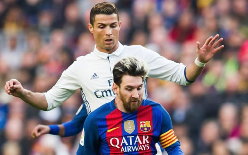 Carlos Tevez highlights what sets Barcelona's Lionel Messi and Real Madrid's Cristiano Ronaldo apart from each other