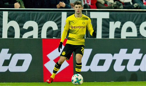 Liverpool and Manchester United told price for Borussia Dortmund sensation Christian Pulisic