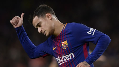 Coutinho, Dembele and Mina not ready to star for Barcelona