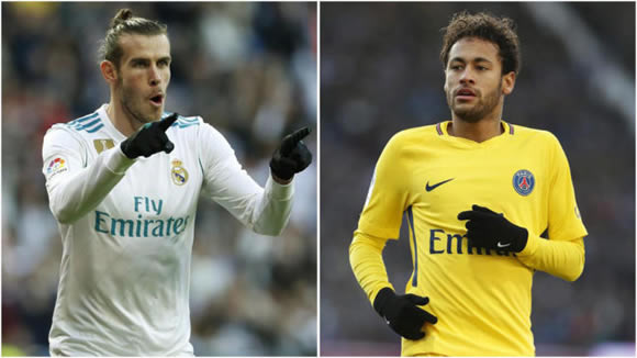 Bale agent: He is worth at least €222 million, like Neymar