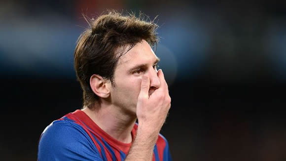 Barcelona's Lionel Messi cried after 2012 UCL exit - Alexis Sanchez