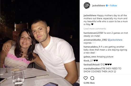 Footballers celebrate Mother's Day by posting touching messages on social media